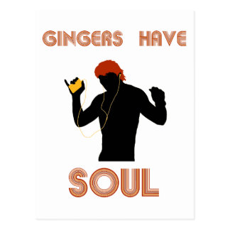 Male Gingers Have Soul Postcard