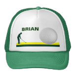 Male Golf hat customizable