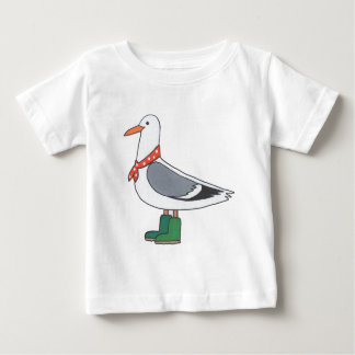Male Gull - Scarf and Boots Shirt