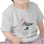 Male Gull - Scarf and Boots Tshirts