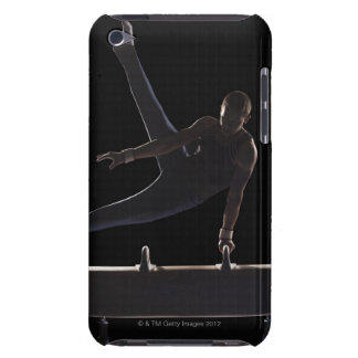 Male gymnast on pommel horse barely there iPod cover