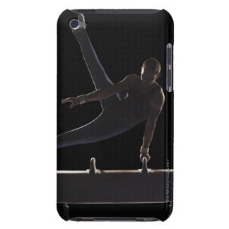 Male gymnast on pommel horse iPod touch Case-Mate case