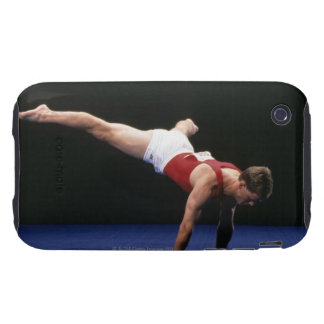 Male gymnast peforming a routine in the floor iPhone 3 tough cover