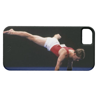 Male gymnast peforming a routine in the floor iPhone SE/5/5s case
