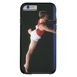 Male gymnast peforming a routine in the floor tough iPhone 6 case