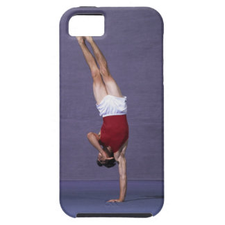 Male gymnast performing on the floor exercise 2 iPhone SE/5/5s case