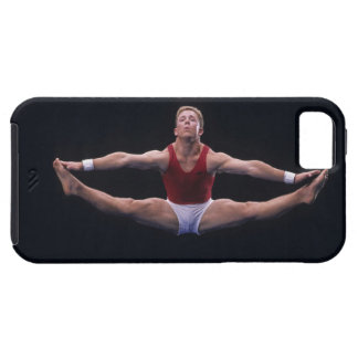 Male gymnast performing on the floor exercise iPhone 5 covers