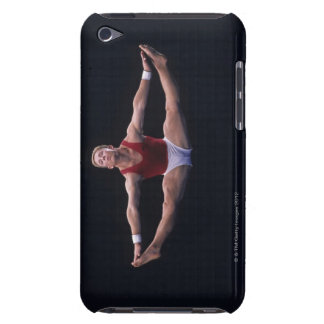 Male gymnast performing on the floor exercise iPod touch Case-Mate case