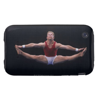 Male gymnast performing on the floor exercise tough iPhone 3 cover