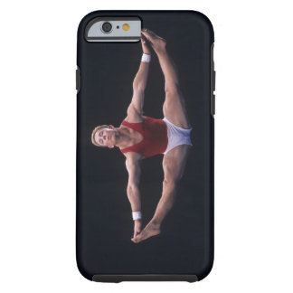 Male gymnast performing on the floor exercise tough iPhone 6 case