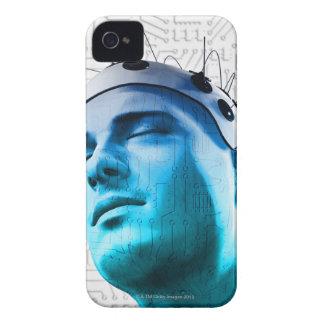 Male Head Case-Mate iPhone 4 Cases