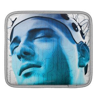 Male Head iPad Sleeves