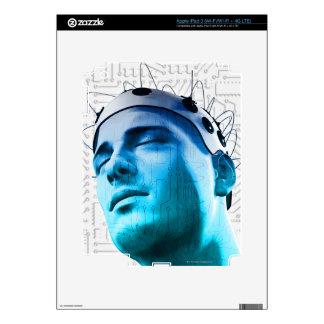 Male Head Skin For iPad 3