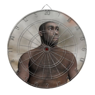 Male homo erectus - 3D render Dart Board