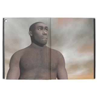 "Male homo erectus - 3D render iPad Pro 12.9"" Case"