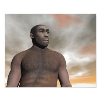 Male homo erectus flyer