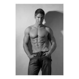 Male Hunk Poster 3000