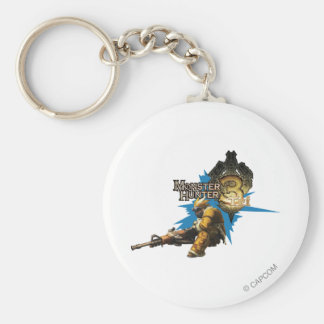 Male Hunter with Bowgun, Heavy Gunner with Ludroth Key Chains