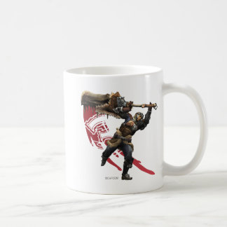 Male Hunter with great sword & hunter's armor Coffee Mug