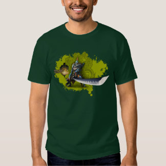 Male hunter with long sword & lagiacrus armor t shirts