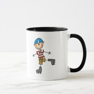 Male In-Line Skating Tshirts and Gifts Mug