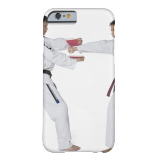 Male karate instructor teaching martial arts to barely there iPhone 6 case