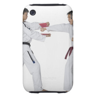 Male karate instructor teaching martial arts to iPhone 3 tough case