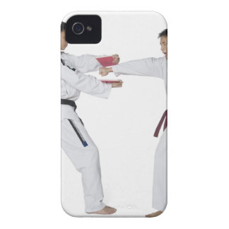 Male karate instructor teaching martial arts to iPhone 4 case