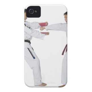 Male karate instructor teaching martial arts to iPhone 4 cover