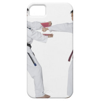 Male karate instructor teaching martial arts to iPhone SE/5/5s case