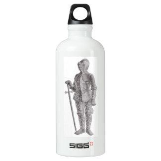 Male Knight Aluminum Water Bottle