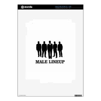 male lineup skin for iPad 2