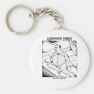 Male Lingerie Funny Gifts Tees & Collectibles Basic Round Button Keychain