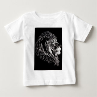 Male Lion Baby T-Shirt