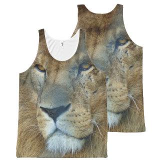 Male Lion (Loewe) All-Over Print Tank Top