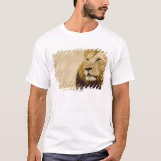 Male lion (Panthera leo) portrait, Masai Mara T-Shirt