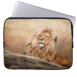 Male Lion Photo Laptop Computer Sleeve