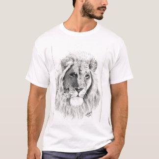 Male Lion portrait T-shirt