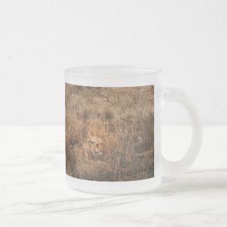Male lion wild animal safari mugs & cups