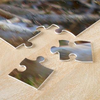 Male Mallard Duck In Flight Jigsaw Puzzle