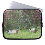 Male Mallard Ducks Electronics Bag Laptop Computer Sleeves