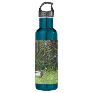 Male Mallard Ducks Liberty Bottle 24oz Water Bottle