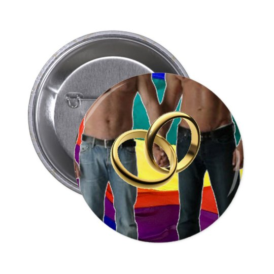 Male Marriage Button