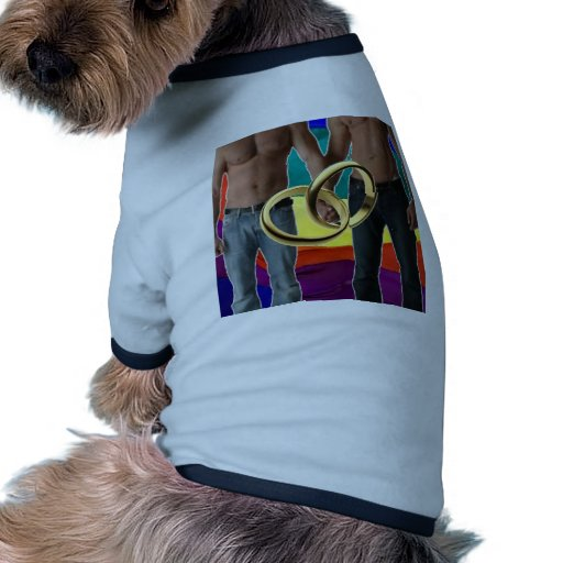 Male Marriage Dog T-shirt