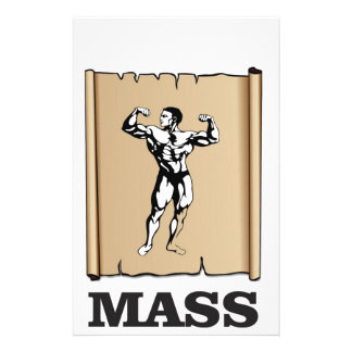 male mass and form stationery