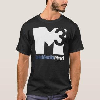 Male Media Mind Main Logo (Light) Tee