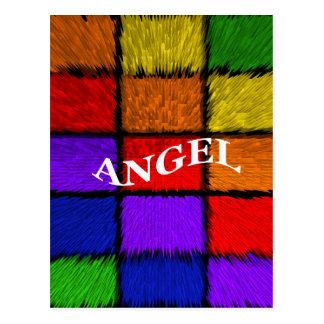 MALE NAMES(Angel) Postcard