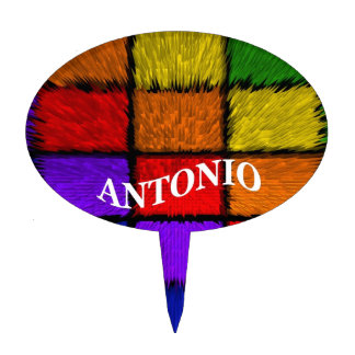 MALE NAMES (Antonio) Cake Toppers