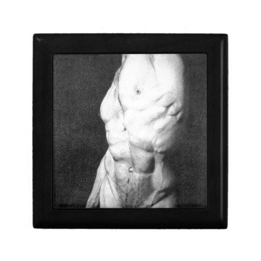 Male nude 1 jewelry box
