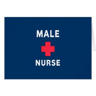 Male Nurse Card